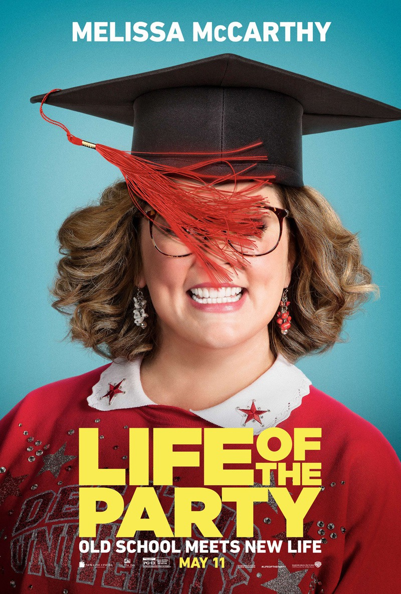 Image result for life of the party movie poster