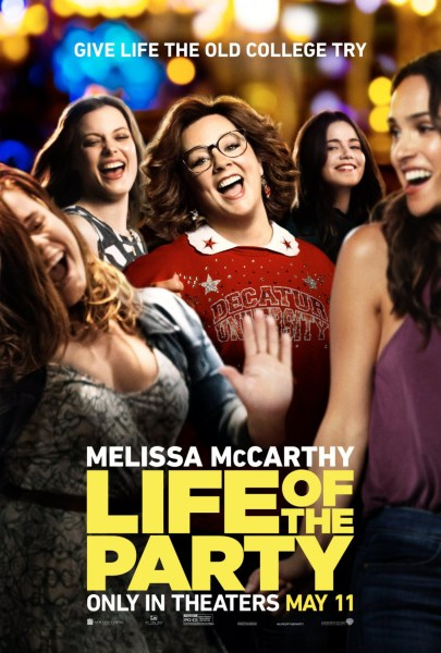Life Of The Party New Movie Poster
