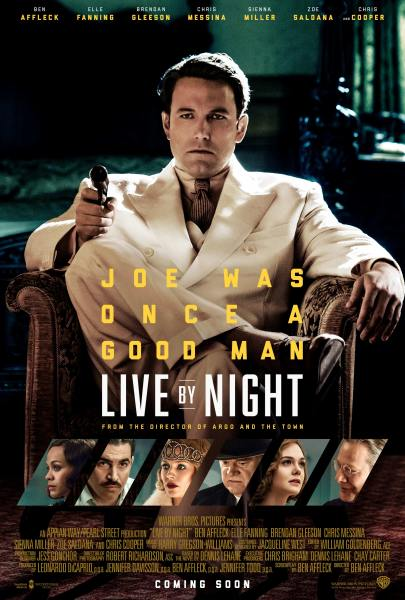 Live By Night New Poster