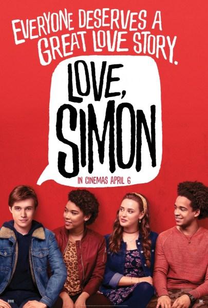Love Simon New Film Poster