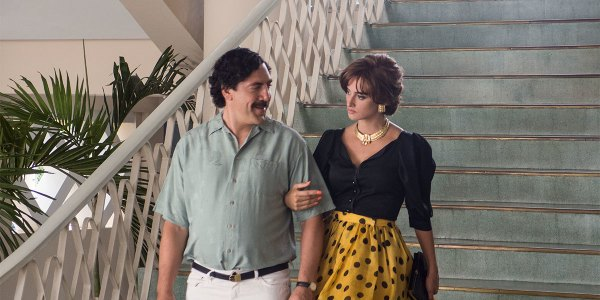 Loving Pablo Movie - Javier Bardem and Penelope Cruz