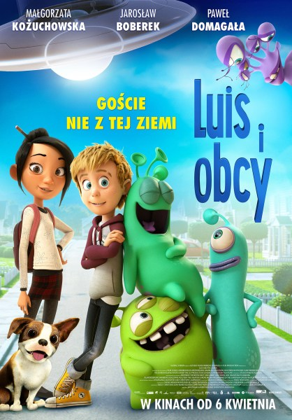 Luis And The Aliens Poland Poster