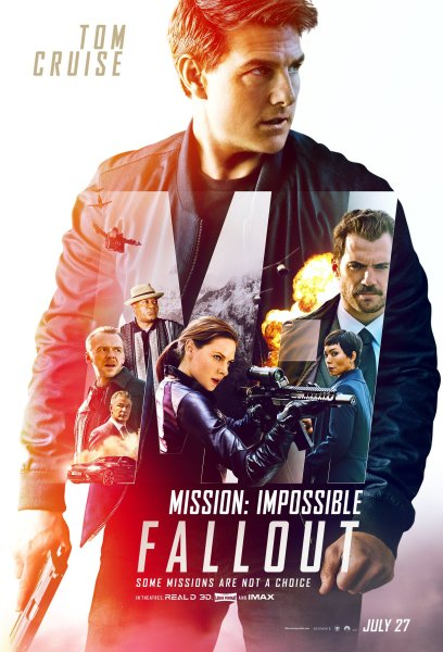 Mission Impossible 6 Fallout Film Poster