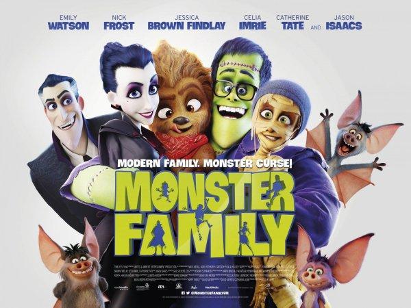 Monster Family UK Poster