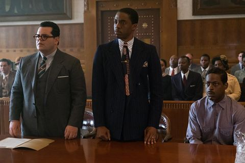 Marshall Movie- Before MLK Jr. and Malcolm X, there was Marshall. Chadwick Boseman, Josh Gad, and Sterling K. Brown star in #MarshallMovie.