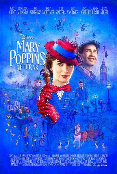 Mary Poppins Film Poster