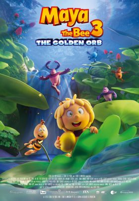 Maya The Bee 3 The Golden Orb Poster