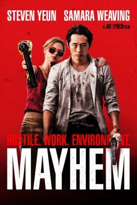 Mayhem Reddish Poster