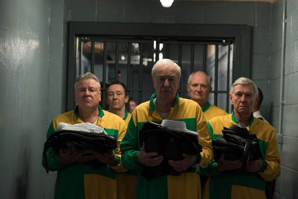 Michael Caine, Jim Broadbent, Tom Courtenay, Paul Whitehouse, And Ray Winstone In King Of Thieves (2018)