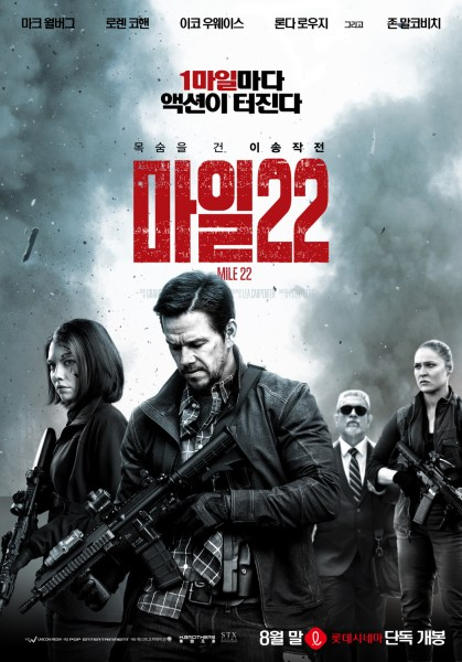 Mile Twenty Two Film Poster