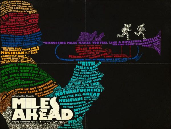 Miles Ahead artsy poster
