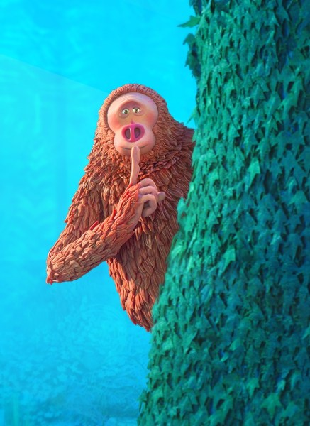 Missing Link Laika Movie Close Up