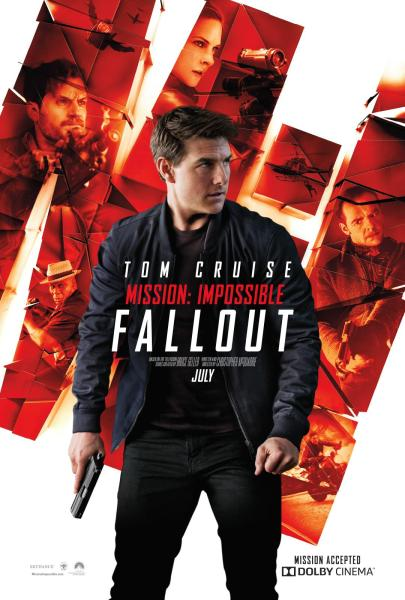 Mission Impossible 6 Fallout Imax Poster