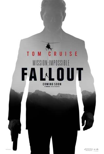 Mission Impossible 6 Fallout Movie Poster