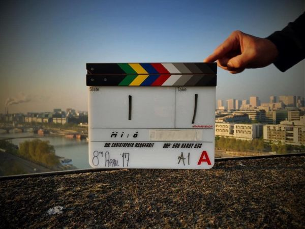 Mission Impossible 6 Movie Film Clapperboard