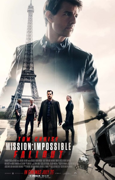 Mission Impossible Fallout International Poster