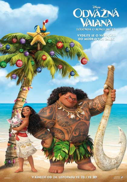 Moana Holiday Poster