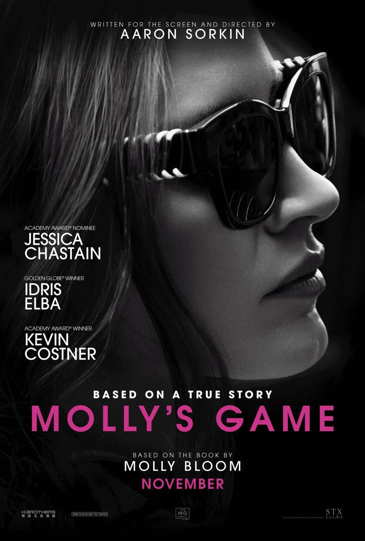 Resultado de imagen para mollys game poster