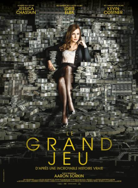 Molly's Game French Poster