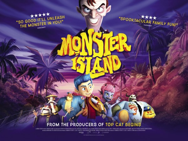 Monster Island Movie Poster