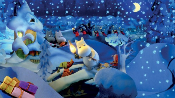 Moomins At Christmas Movie