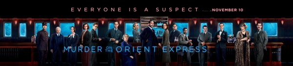 Murder On The Orient Express Banner