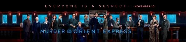 Murder On The Orient Express Banner