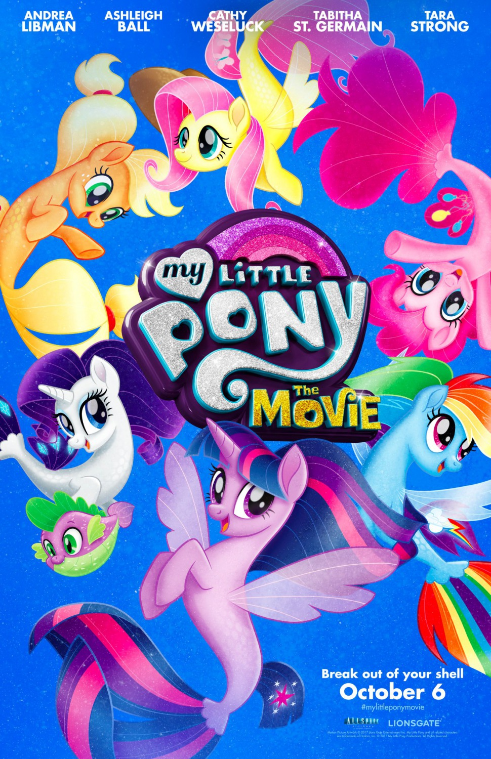 My little pony in the movie: a review of the cartoon
