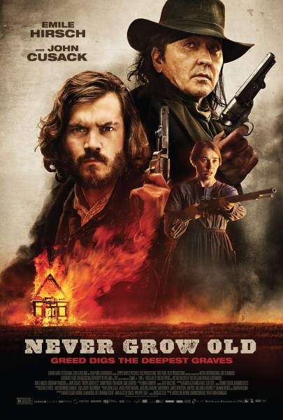 NEVER GROW OLD Movie Poster