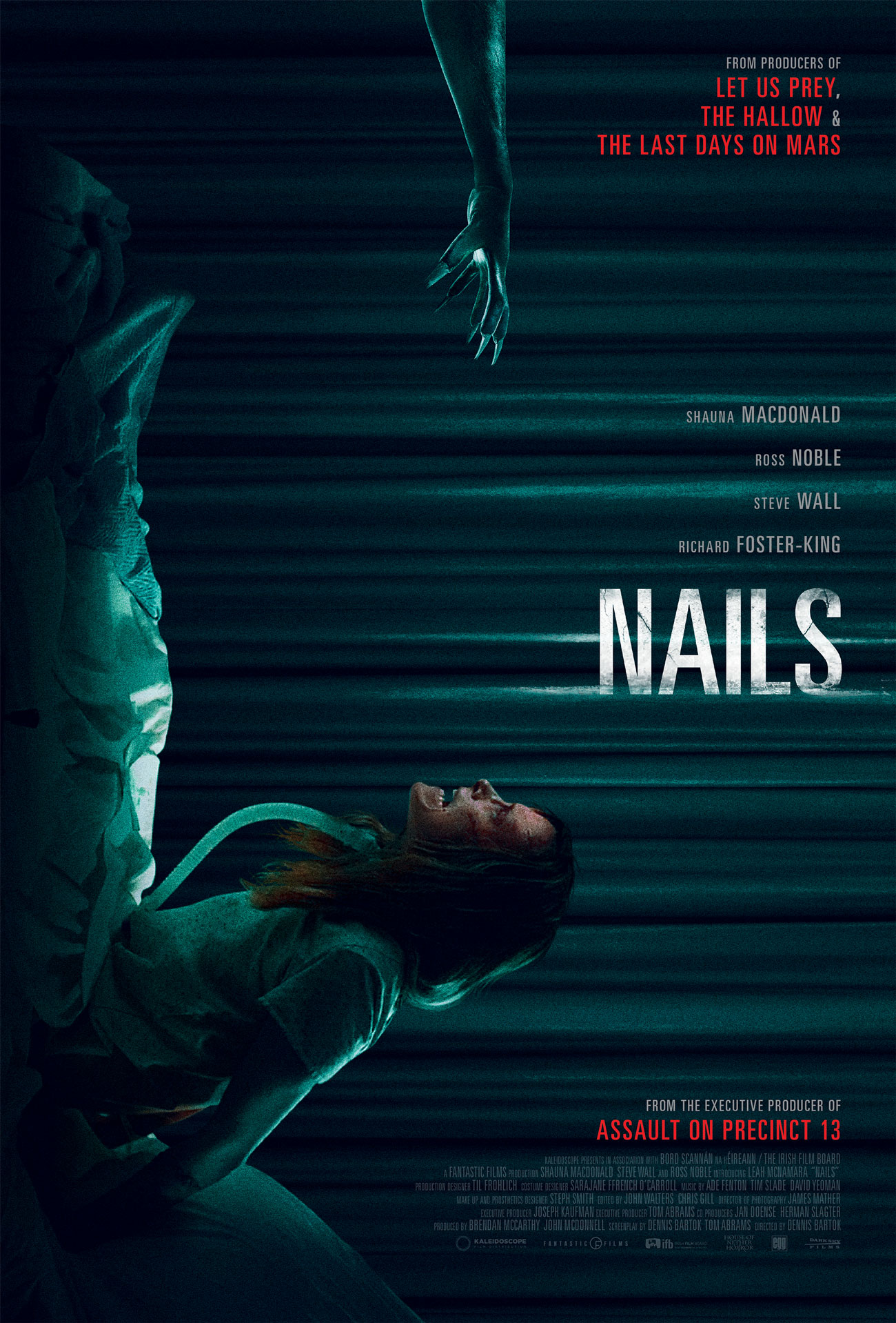 trailer and poster of nails starring