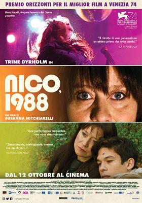 Nico 1988 Movie Poster