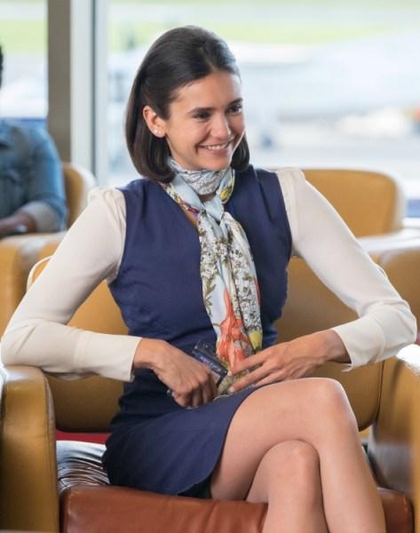 Nina Dobrev - Departures movie