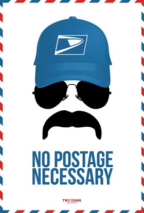 No Postage Necessary Teaser Poster