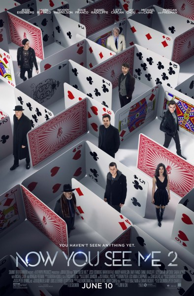 Now You See Me 2 Poker Poster