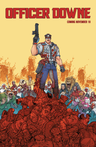 Officer Downe New Poster