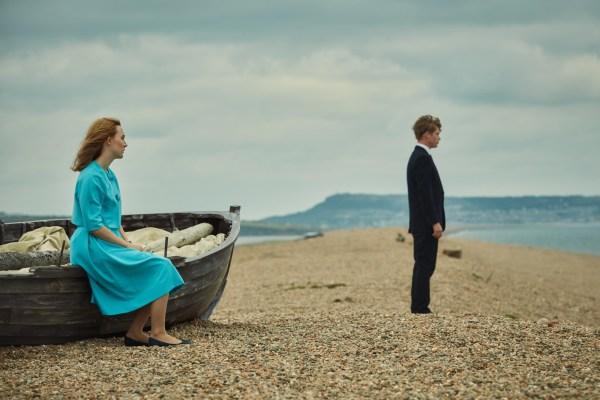On Chesil Beach Movie - Saoirse Ronan and Billy Howle