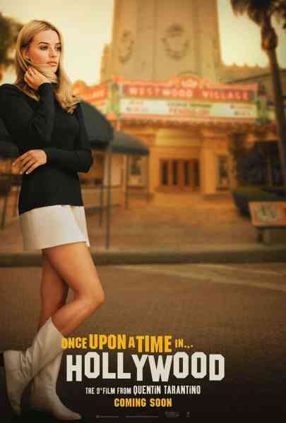 Once Upon A Time In Hollywood Margot Robbie Poster