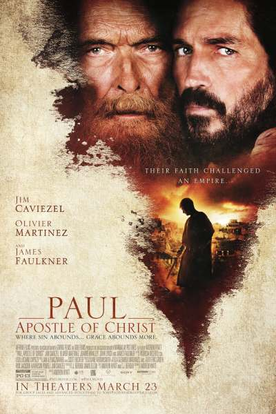 Paul Apostle Of Christ Movie Poster