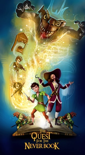 Peter Pan The Quest For The Never Book