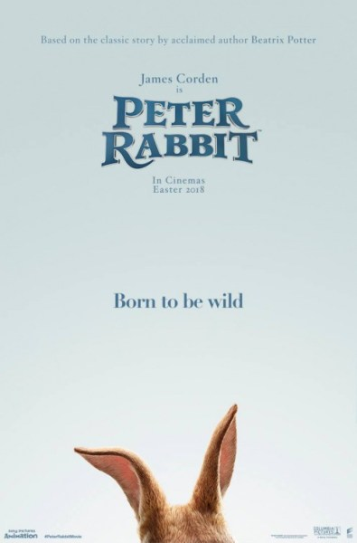 Petter Rabbit New Teaser Poster