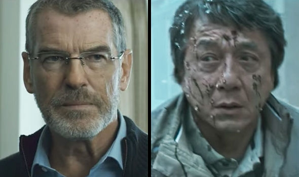 Pierce Brosnan and Jackie Chan - The Foreigner Film