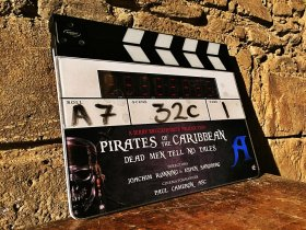 Pirates of the Caribbean 5 Dead Men Tell No Tales Film Clapper