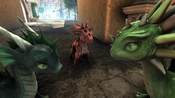 Pixy Dragons Movie