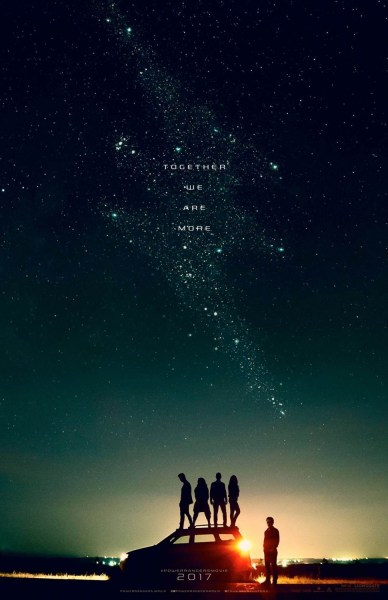 Power Rangers Teaser Poster