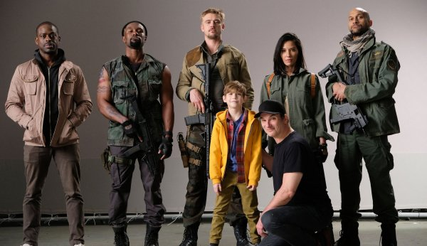 Predator 4 Cast - The Predator