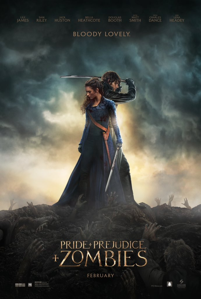 pride and prejudice and zombies actu