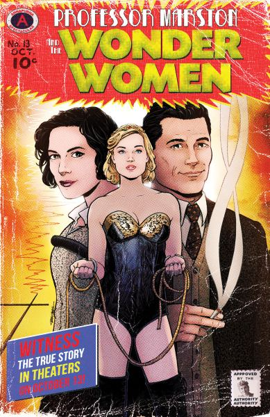Professor Marston And The Wonder Woman Comic Con
