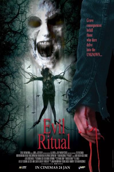 Pyewacket Evil Ritual Malaysia Poster