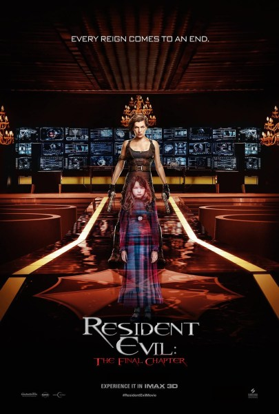 RE6 IMAX Poster