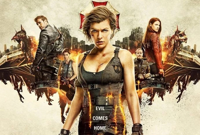 Image result for resident evil 6 movie